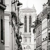 Картины и панно handmade. Livemaster - original item The photo city, Black and white pictures of Paris,
