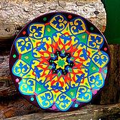 """Посуда ручной работы. Ярмарка Мастеров - ручная работа Декоративная тарелка """"Персия"""". Handmade."""