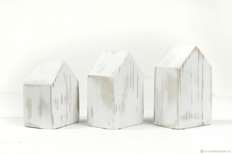 Набор из 3 домиков в стиле Шебби Шик, Домики, Ермаковское,  Фото №1