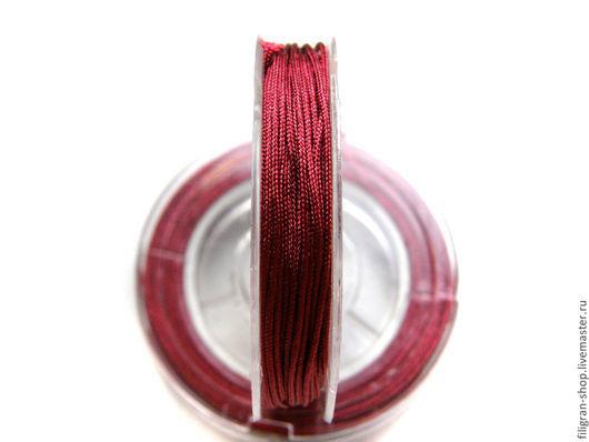 Для украшений ручной работы. Ярмарка Мастеров - ручная работа. Купить Шнур нейлоновый 0.8 мм в ассортименте. Handmade.