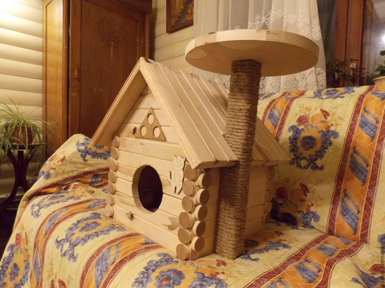 Доми для кошек своими руками