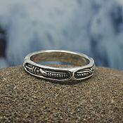 Украшения handmade. Livemaster - original item Biomechanical ring. Handmade.