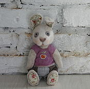 Куклы и игрушки ручной работы. Ярмарка Мастеров - ручная работа зайчик Филя. Handmade.