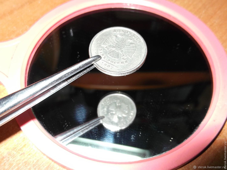 Монета, одинаковая с обеих сторон, Приколы, Мценск,  Фото №1
