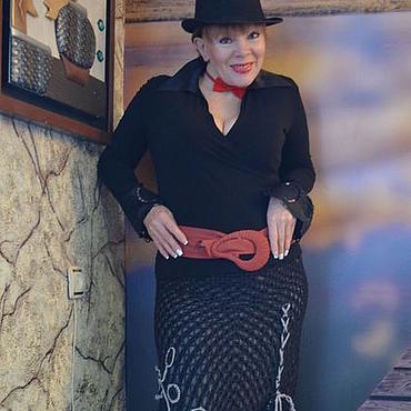 """Одежда ручной работы. Ярмарка Мастеров - ручная работа Юбка-бохо """"Алиса Мон"""". Handmade."""