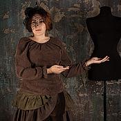 Одежда ручной работы. Ярмарка Мастеров - ручная работа Блузка Лондон. Handmade.