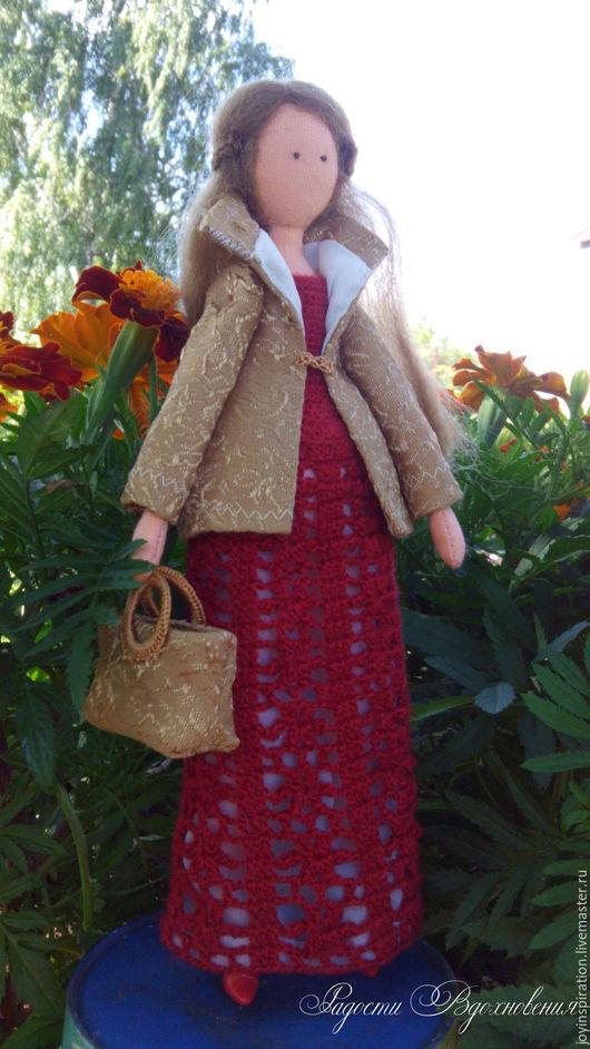 Куклы Тильды ручной работы. Ярмарка Мастеров - ручная работа. Купить Текстильная кукла Марго. Handmade. Комбинированный, интерьерная кукла