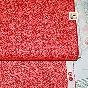 Материалы для творчества ручной работы. Ярмарка Мастеров - ручная работа Ткань мини отрез 20116  Красный вязаный (22х27см). Handmade.