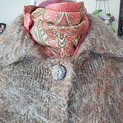 Одежда ручной работы. Ярмарка Мастеров - ручная работа Пушистое, уютное пальто. Ручная вязка.. Handmade.