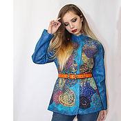 Одежда handmade. Livemaster - original item Jacket felted Kaleidoscope of Life.... Handmade.