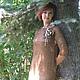 """Платья ручной работы. Заказать Вязаное платье """"Селена"""". Студия трикотажа 'Lizzi M'. Ярмарка Мастеров. Платье нарядное"""