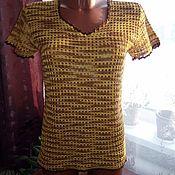 Одежда ручной работы. Ярмарка Мастеров - ручная работа футболка ,,сафари,,. Handmade.