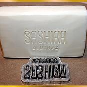 Материалы для творчества ручной работы. Ярмарка Мастеров - ручная работа Штамп для мыла с вашим логотипом. Handmade.