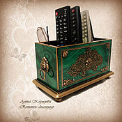 Для дома и интерьера handmade. Livemaster - original item Desktop stand.Stand for remotes