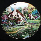 Винтаж handmade. Livemaster - original item Collection plate