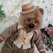 Куклы и игрушки handmade. Livemaster - original item Bear bear felted Cupcakes felted wool Teddy toy from wool. Handmade.