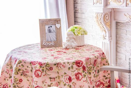 Текстиль, ковры ручной работы. Ярмарка Мастеров - ручная работа. Купить Ламинированная скатерть Розовая феерия. Handmade. Розовый, розы