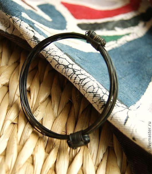 """Для украшений ручной работы. Ярмарка Мастеров - ручная работа. Купить браслет-основа """"Хвост слона"""" из волосинок с хвоста африканского слона. Handmade."""