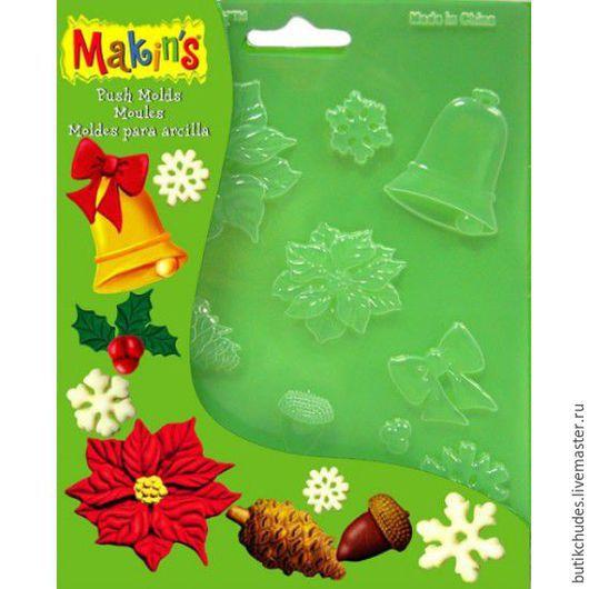 Формочки для литья Makin`s «Рождество»