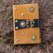 Канцелярские товары ручной работы. Ярмарка Мастеров - ручная работа Блокнот записная книжка Steampunk. Handmade.