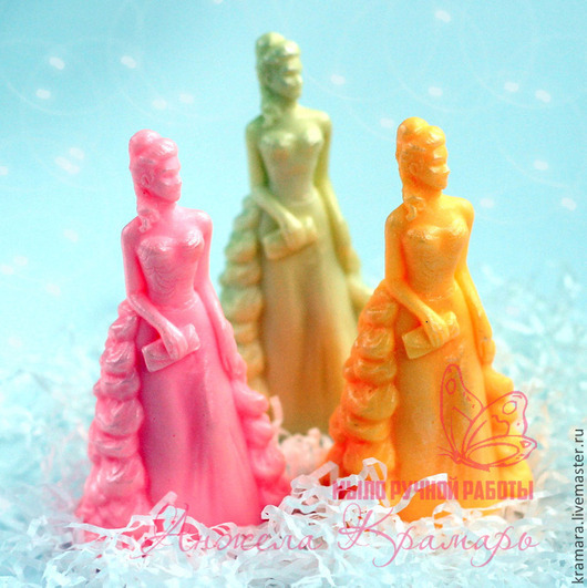 """Мыло ручной работы. Ярмарка Мастеров - ручная работа. Купить Мыло """"Дама"""". Handmade. Разноцветный, мыло дама, дама"""