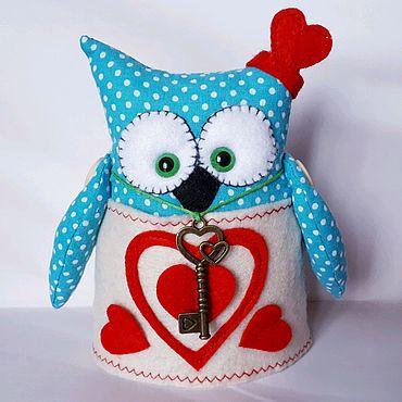 Куклы и игрушки ручной работы. Ярмарка Мастеров - ручная работа Совушка-сердцеедка. Handmade.