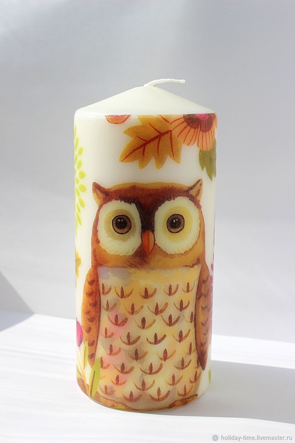 Owls Candles decoupage Owl, Candles, Chusovoi,  Фото №1