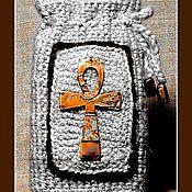 """Фен-шуй и эзотерика ручной работы. Ярмарка Мастеров - ручная работа Мешочек для Таро """"Анх"""". Handmade."""