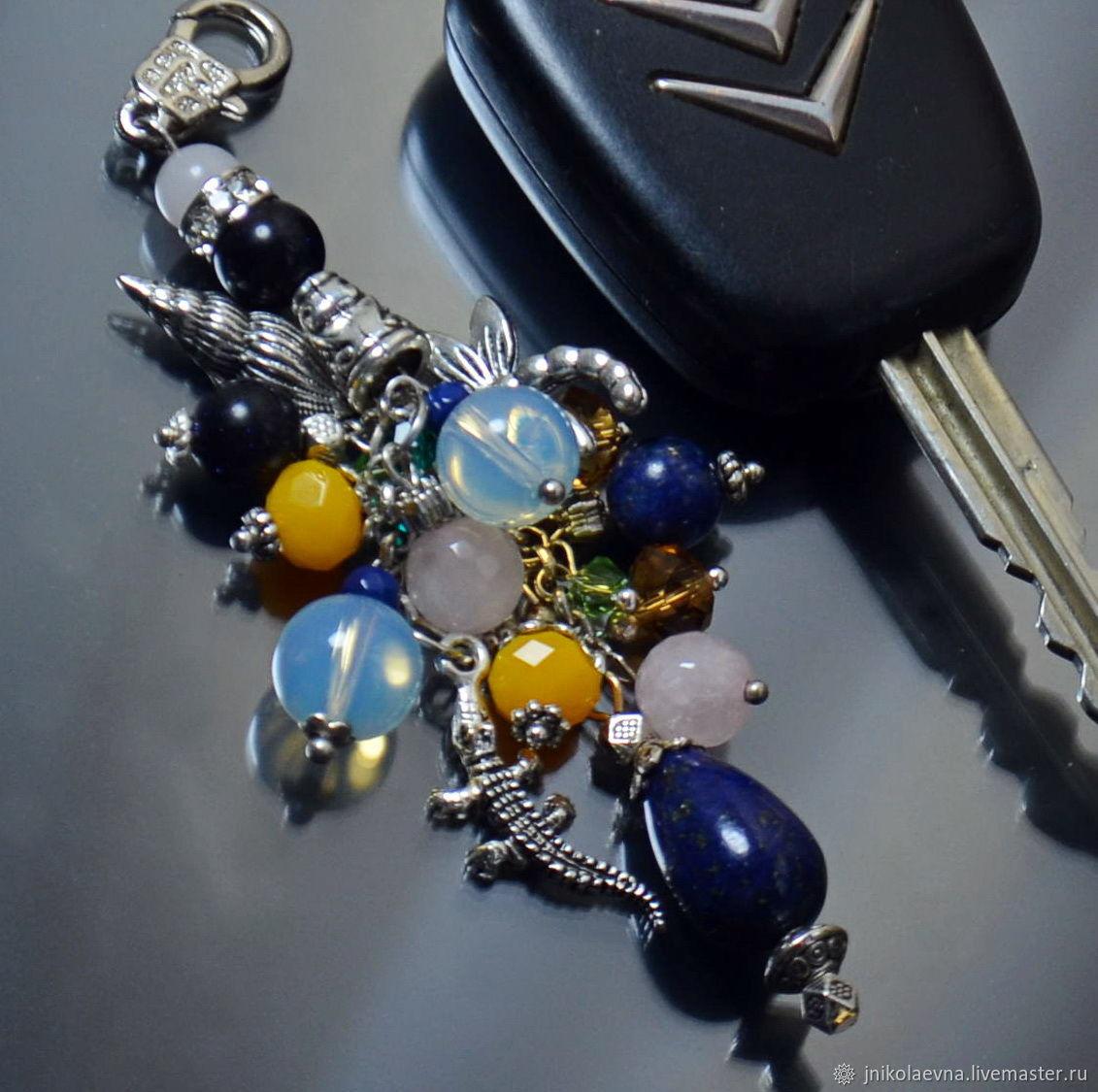 """""""Весенний ручеек""""   Брелок на ключи, брелок для сумки рюкзак"""