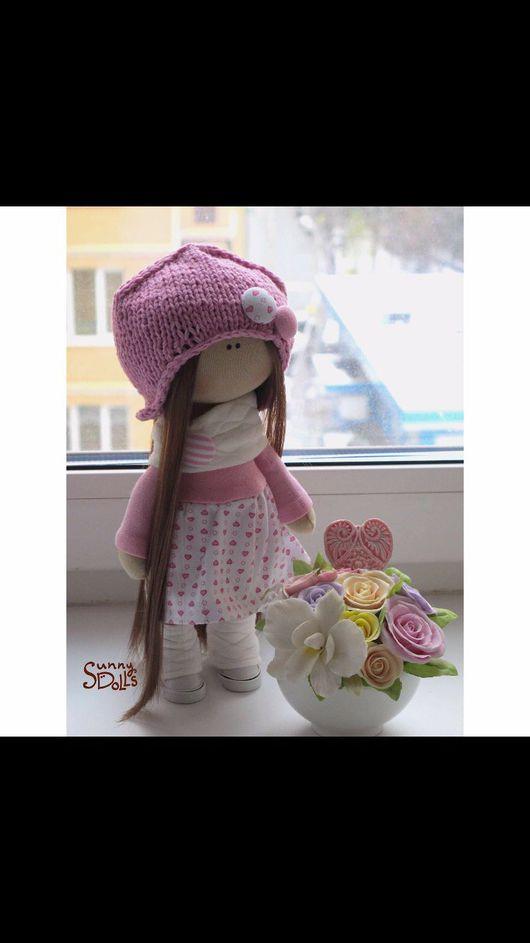 Коллекционные куклы ручной работы. Ярмарка Мастеров - ручная работа. Купить Текстильный куколки. Handmade. Текстильная кукла, интерьерная кукла
