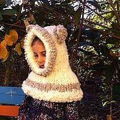 Аксессуары ручной работы. Ярмарка Мастеров - ручная работа Детский капор с ушками. Handmade.
