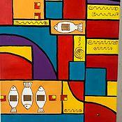 Картины и панно handmade. Livemaster - original item Mondrian (based on) Neoplasticism. abstraction.. Handmade.