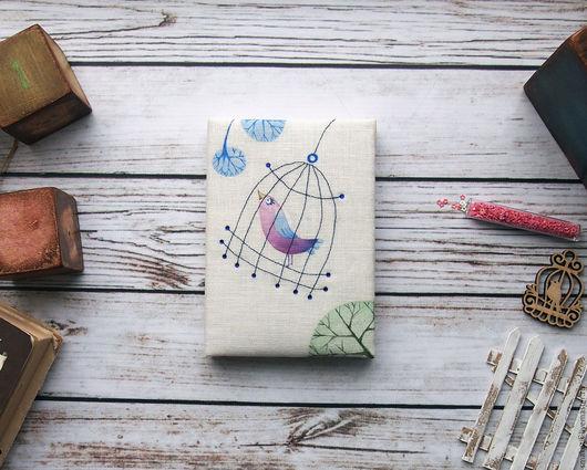 """Блокноты ручной работы. Ярмарка Мастеров - ручная работа. Купить Блокнот """"Весна красна"""". Handmade. Белый, блокнот ручной работы"""
