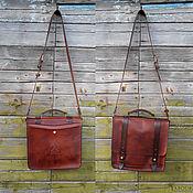 Сумки и аксессуары handmade. Livemaster - original item Leather bag mod.Sorbonne 68, medium. Handmade.