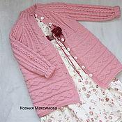 Одежда детская handmade. Livemaster - original item Cardigan Cookie size 116. Handmade.