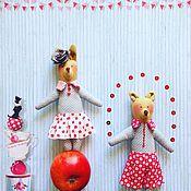 Куклы и игрушки ручной работы. Ярмарка Мастеров - ручная работа малыши-циркачи. Handmade.
