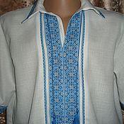 Одежда ручной работы. Ярмарка Мастеров - ручная работа сорочка-вышиванка. Handmade.