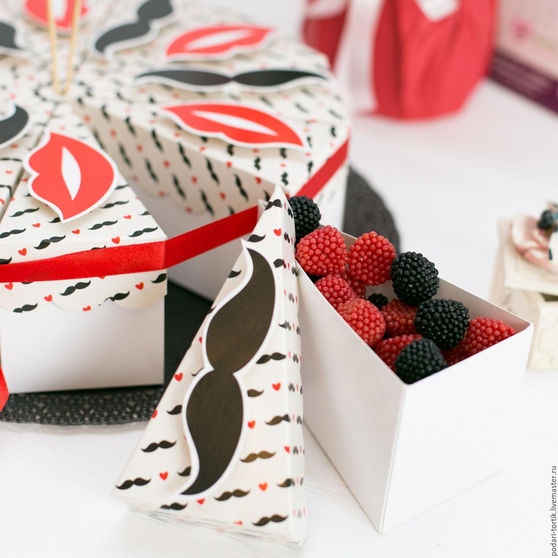 Тортик из бумаги идя подарков