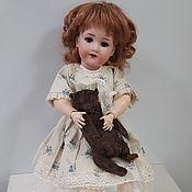 Куклы и игрушки ручной работы. Ярмарка Мастеров - ручная работа Антикварная немецкая кукла  Armand Marselle. Handmade.