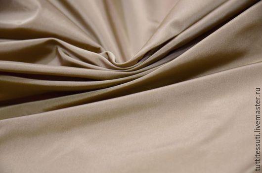 Шитье ручной работы. Ярмарка Мастеров - ручная работа. Купить Плащевая ткань 10-300-0162. Handmade. Бежевый, тренчкот