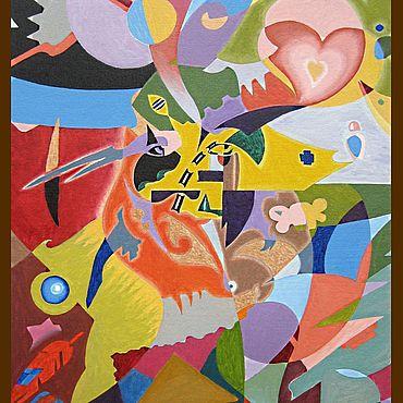 Картины и панно ручной работы. Ярмарка Мастеров - ручная работа Характер. Handmade.
