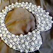 Аксессуары handmade. Livemaster - original item Collar of natural pearls. Handmade.