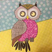 Материалы для творчества handmade. Livemaster - original item 540.  Napkin for decoupage Owl. Handmade.
