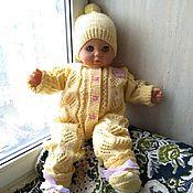 Работы для детей, handmade. Livemaster - original item Set of clothes for girls