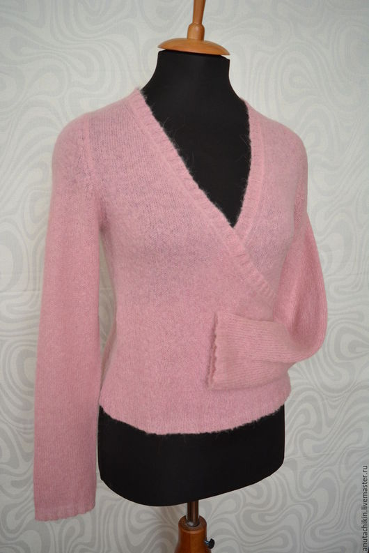 Кофты и свитера ручной работы. Ярмарка Мастеров - ручная работа. Купить Кофта из альпаки. Handmade. Розовый, авторская работа