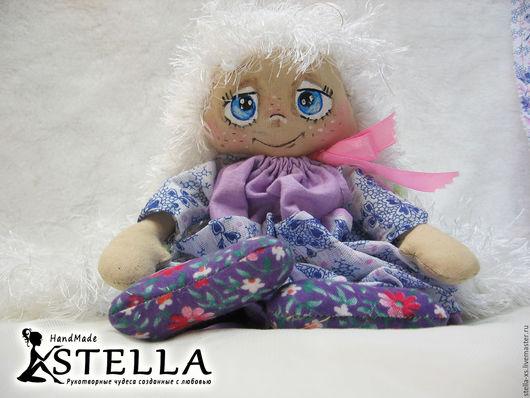 Ароматизированные куклы ручной работы. Ярмарка Мастеров - ручная работа. Купить Кукла Белочка. Handmade. Кукла, милая куколка, хлопок