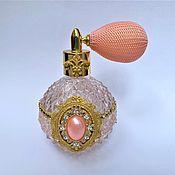 Духи ручной работы. Ярмарка Мастеров - ручная работа Розовый флакон для духов. Handmade.