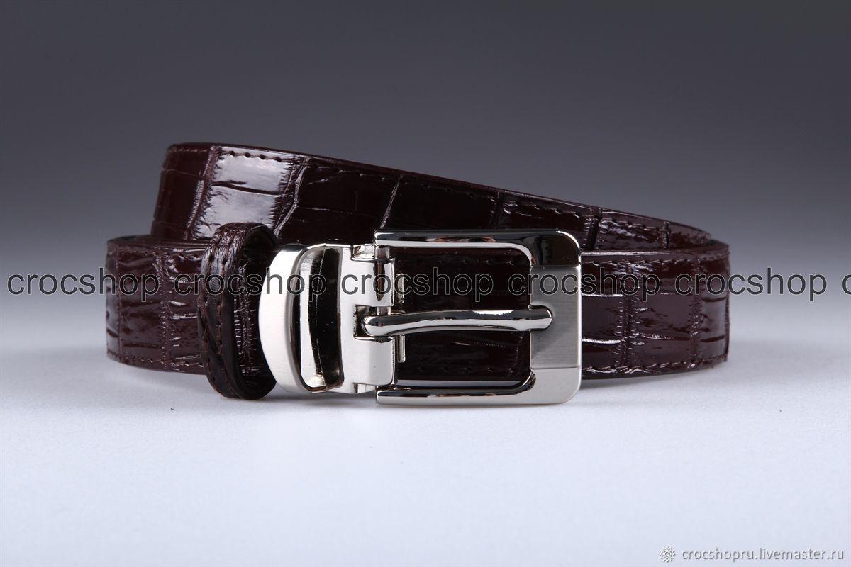 a7691b196b497 Belts handmade. Livemaster - handmade. Buy Women's belt crocodile leather  IMA3017VK4.Belt ...
