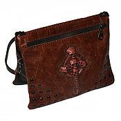 Сумки и аксессуары handmade. Livemaster - original item Small leather bag. Handmade.