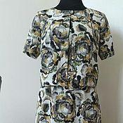 Одежда ручной работы. Ярмарка Мастеров - ручная работа 345: летний костюм женский, костюм платье в пол с пиджаком. Handmade.